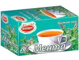 Биосет билков чай мента 30 г