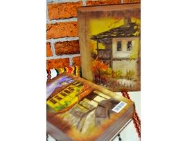 Кутия книга с надпис България