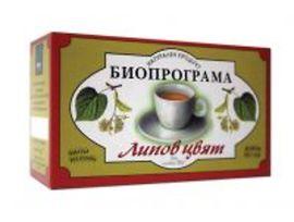 Биопрограма Чай Липов цвят кутия 30 г
