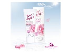 Българска роза крем за крака с розово масло и йогурт 75 г