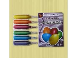 Илиана Боя за яйца брилянтна 6 цвята 20 гр