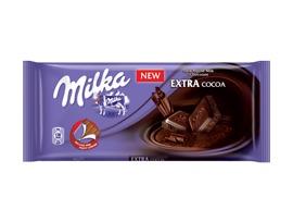 Милка тъмен шоколад и мляко 100 гр