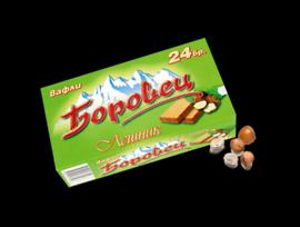 Вафли Боровец Лешник обикновени 24 бр 550 г