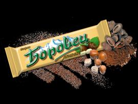 Вафла шоколадова Боровец с лешници 45 г кутия 24 бр
