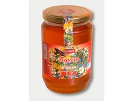 Апитрейд Пчелен мед букет 400 гр