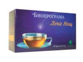 Биопрограма чай лека нощ 30 г