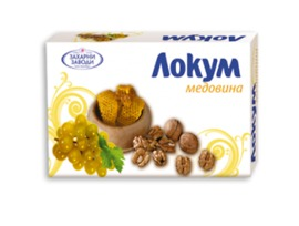 Захарни Заводи ГО Локум медовина 140 г