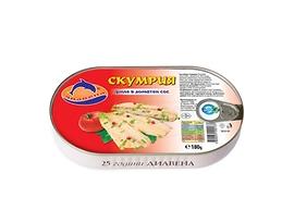 Диавена Скумрия филе в доматен сос 180 г