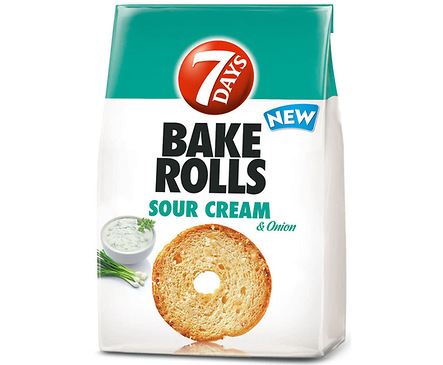 Bake Rolls сметана и лук 80 г