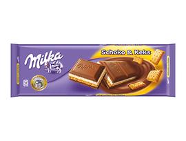 Шоколад Милка Shoko Keks 300 г