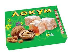 Локум с орехи Цитрон 140 г