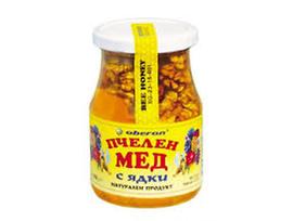 Оберон Мед с орехи 370 г