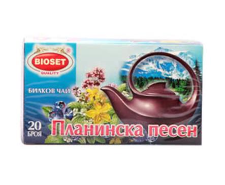Биосет билков чай Планинска песен 30 г