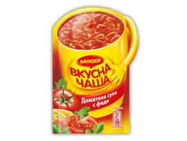 Maggi Вкусна чаша Доматена супа с фиде 15 г