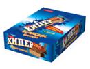 Хипер Вафлa шоколадова 55 г кутия 25 бр