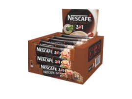 Нестле Нескафе 3 в 1 с кафява захар 18 г кутия 28 бр
