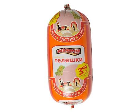 Маджарски Колбас Телешки Фермата 750 г