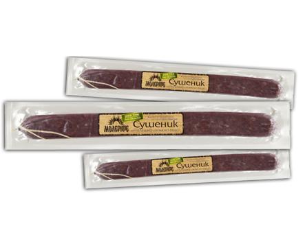Молерите сушеник от конско и телешко месо 190 г