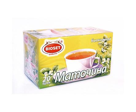 Биосет билков чай маточина 30 г