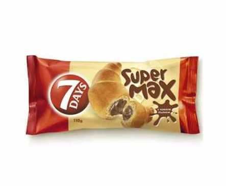 Кроасан Супер MAX какао 110 г кутия 18 бр