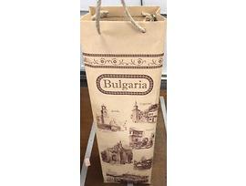 Сувенири хартиена торба за вино
