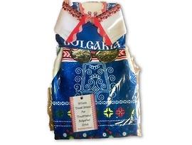 Женска носия дрешка за бутилка Синя