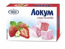 Захарни Заводи ГО Локум ягода 140 г