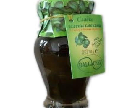 Дългъчев сладко от зелени смокини 260 гр