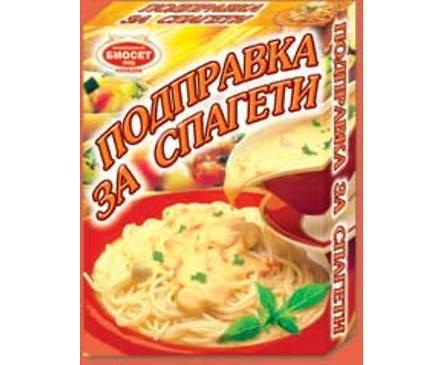 Биосет подправка за спагети 60 г