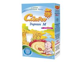 Слънчо Млечна каша Зърнин М 11 витамина 200 г