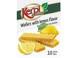 Вафли с лимонов аромат Керпи 200 г