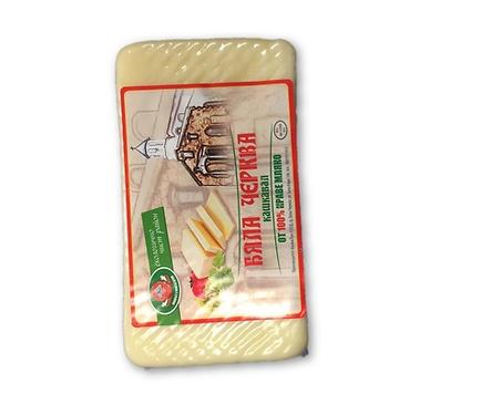 Бяла Черква кашкавал от краве мляко вакуум 400 г