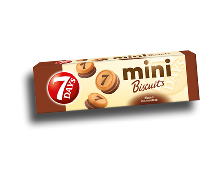 7 Days мини бисквити с какаов крем 100 г