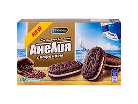 Победа Бисквити Анелия с кафе крем 187 г