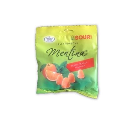 Бонбони Кисела Ментина портокал 80 г