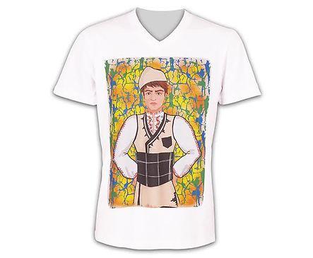 Мъжка тениска момче с носия модел 2 размер M