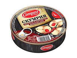 Компас Скумрия котлети в подлютен доматен сос 160 г