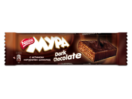 Вафла Мура тъмен шоколад 41 г