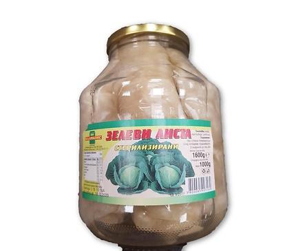 Каликонс зелеви листа стерилизирани 17 кг