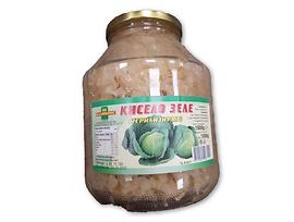 Каликонс рязано кисело зеле стерилизирано 17 кг