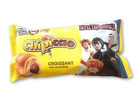 Чипикао Кроасан с какаов пълнеж 60 г кутия 20 бр