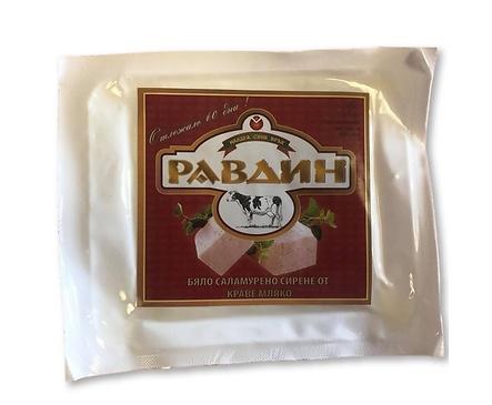Равдин Отлежало сирене от краве мляко вакуум 400 г