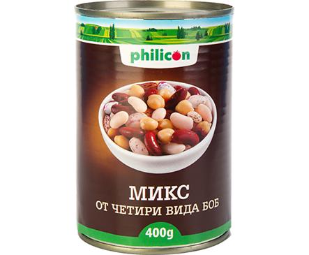 Филикон микс от 4 вида боб мет кутия 400 г