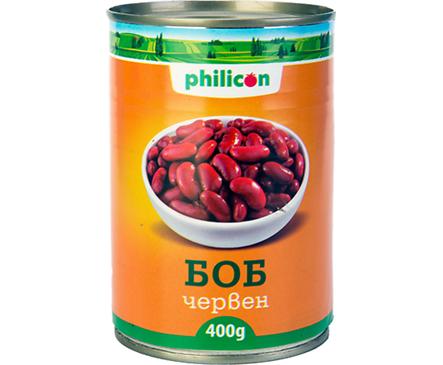 Филикон боб червен мет кутия 400 г