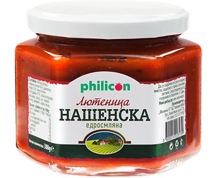 Филикон Нашенска едросмляна лютеница 380 г