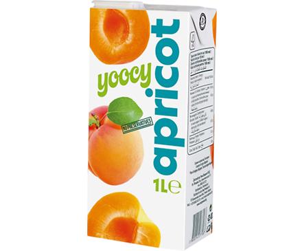 Йоси плодова напитка кайсия 1000 мл