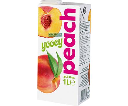 Йоси плодова напитка Праскова 1000 мл
