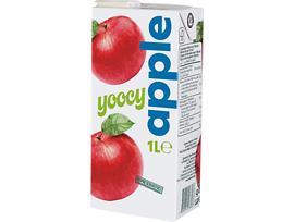 Йоси плодова напитка ябълка 1000 мл