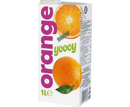 Йоси плодова напитка Портокал 1000 мл