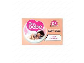 Тео бебешки сапун Мляко и Витамин Е 75 г